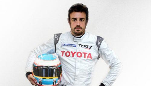 Fernando Alonso participera aux prochaines 24 Heures du Mans avec Toyota